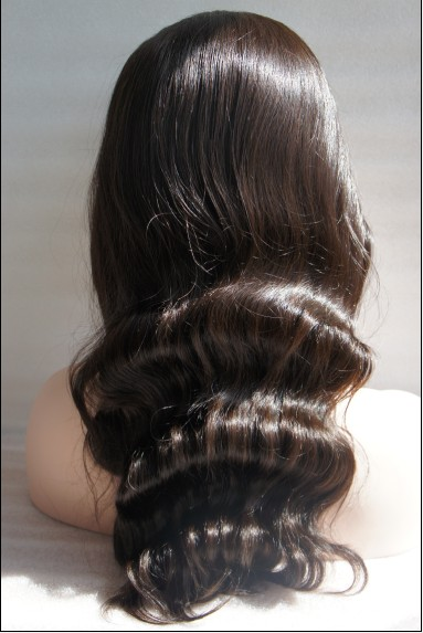 Lace front wigs body wave details picture