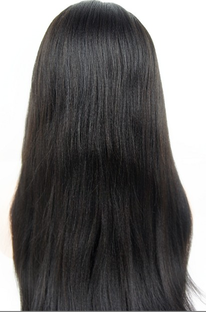 glueless silk top wigs coarse yaki 22