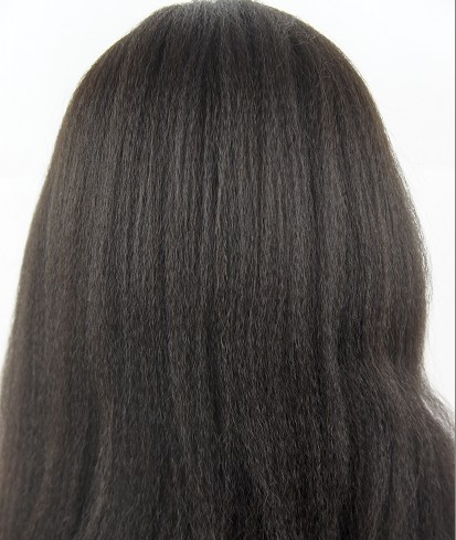 silk top full lace wigs in stock Italian yaki
