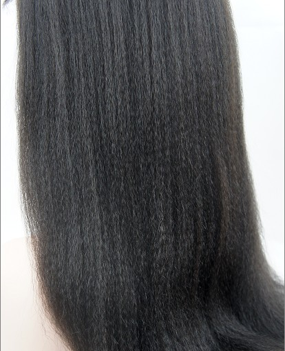 silk top full lace wigs in stock Italian yaki details