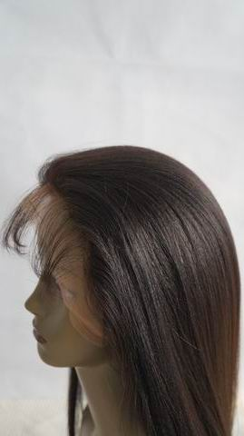 Wholesale wigs for african americans chinese virgin glueless silk top lace wigs