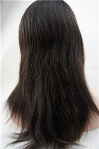 Brazilian virgin human hair back