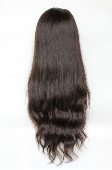 Malaysian virgin hair natural wave back