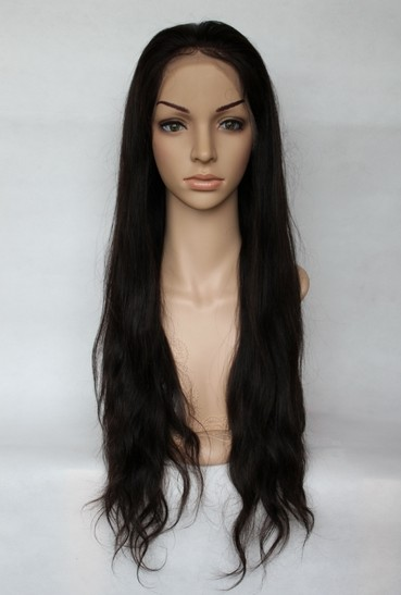 Malaysian virgin hair natural wave front
