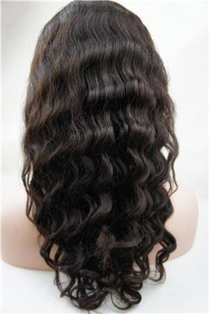 natural color 18 inch deep wave