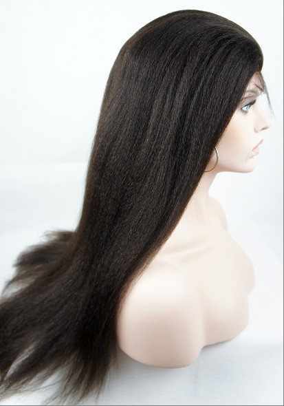 italian yaki straight full lace wigs