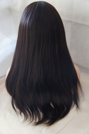 full lace wigs coarse yaki straight