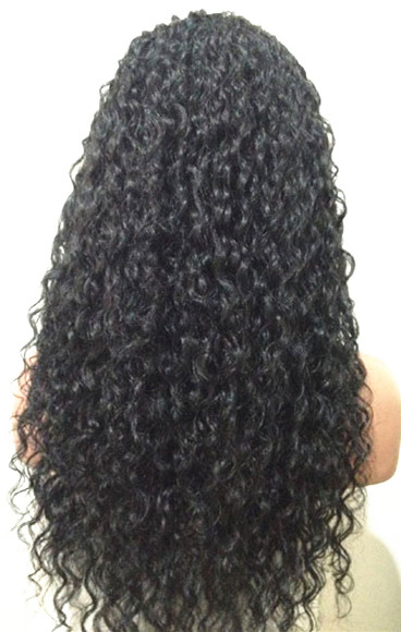 lace front silk top wigs curly