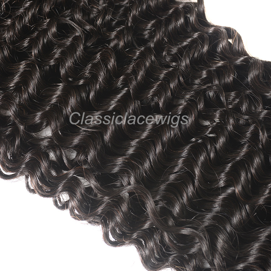 curly hair wefts weave