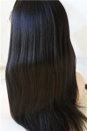 silk top wig human hair full lace
