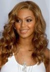 custom Beyonce celebrity hairstyles body wave  lace front wigs