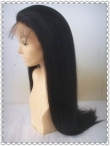 Yaki breathable closure glueless indian remy human hair 22 inch #1