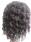 Chinese full lace wigs body wave discount remy human hair 10 inch #1