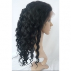 Wigs made from real hair body wave indian remy human hair full lace wigs 16 inch #1