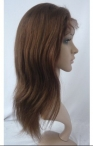 stock silk top lace wigs silky straigh 12 inch #4