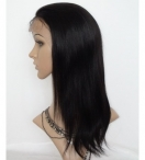 Natural lace front wigs human hair 14 inch #1