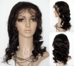 Lace front wigs 2013 body wave human hair 18 inch #2