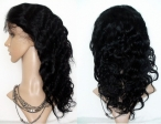 Wave wigs for black women human hair lace front wigs remy hair 18 inch #1
