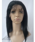 Human hair wigs for white women glueless silky straight remy hair 12 inch #1