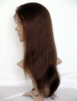 best yaki human hair full lace wigs remy hair 22 inch #4