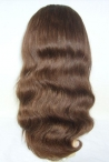 Full lace wigs remy body wave indian remy human hair 16 inch #4 glueless