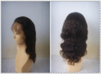 human hair full lace wigs silk top body wave 14 inch #2