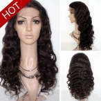 2015 New Full Lace Wigs Body Wave 20 inches #2 Indian Remy Human Hair  Shipping Super Ship Out