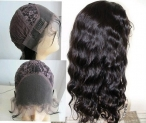 Indian remy lace front wigs for black women custom wave 16 inch #1