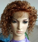 Human hair wigs for african american women full lace wigs curl 12 inch #30