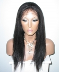 Baby hair lace front wigs human hair 14 inch #1b