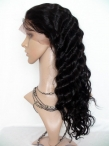 Remy lace front wigs with baby hair human hair deap wave