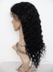 Cheap remy lace front wigs human hair deap wave