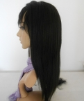 Inexpensive lace front wigs human hair silky straight