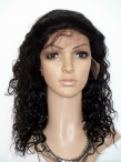 Human hair wigs black women curly full lace wigs