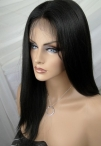 Cheap full lace remy wigs human hair silky straight