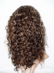 Full human hair wigs curly full lace wigs