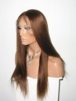 Cheap front lace wigs for black women indian human hair silky straight