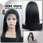 Quality wigs for women human hair full lace wigs yaki straight