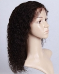 Cheap human lace front wigs indian remy human hair curly