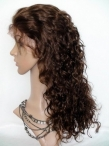 Buy cheap full lace wigs curly indian remy human hair