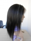 Short wigs for black women silky straight remy human hair