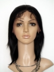 Discount full lace wigs cheap indian remy human hair silky straight