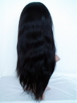 Lace front wigs for black women cheap indian remy human hair yaki straight