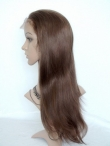Lace front wigs for black women human hair silky straight in stock
