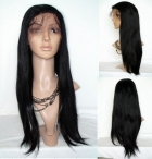 Human hair lace wigs for white women silky straight lace front wigs