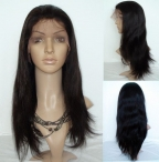 Half wigs human hair for black women silky straight on sales