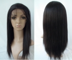 Remy human hair half wigs yaki straight on sales