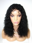 Remi human hair half wigs curly lace front wigs indian remy hair