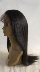 Full lace wig remy indian hair light yaki