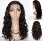 Body wave full lace wigs human hair indian remy hair